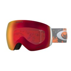 Маска Oakley Flight Deck Arctic Fracture Orange / Prizm Snow Torch Iridium