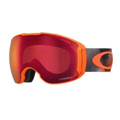 Маска Oakley Airbrake XL Mystic Flow Neon Orange / Prizm Snow Torch Iridium