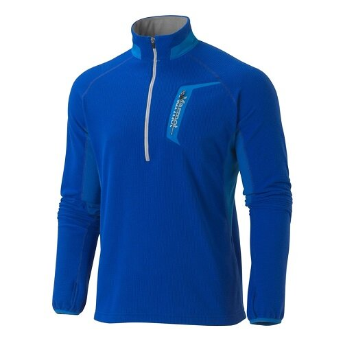 Кофта Marmot Alpinist Half 1/2 Zip, 2714 Surf-blue ocean, XL, 2714 Surf-blue ocean, XL